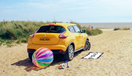 Ik ga naar het strand en neem mee…mijn Nissan Juke